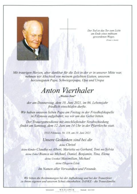 Anton Vierthaler