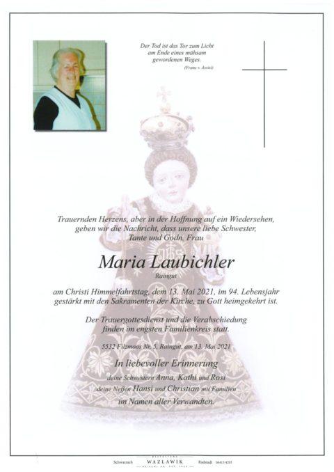 Maria Laubichler