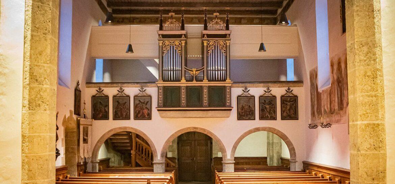 Kirchenwaende Kirche Filzmoos 1