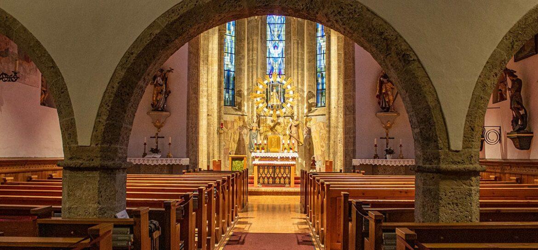 Nach Renovierung - Pfarrkirche Filzmoos