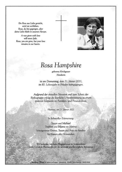 Rosa Hamphire