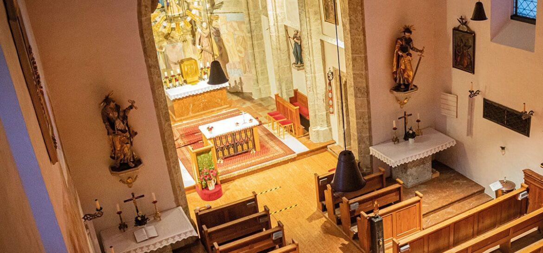 Seitenaltäre - Pfarrkirche Filzmoos
