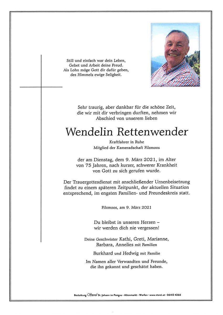 Wendelin Rettenwender 1